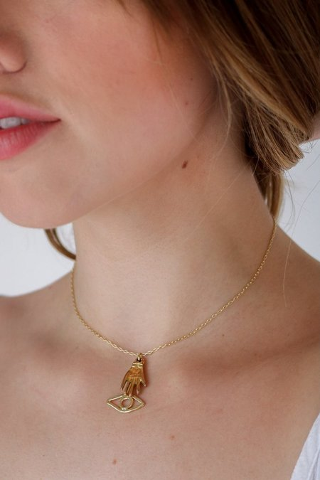Nina Berenato See No Evil Necklace