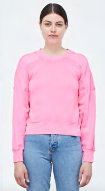 Stateside Neon Long-Sleeve Fleece - PINK