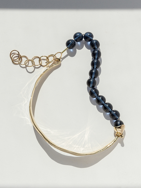 FARIS JEWELRY Versus Collar - Bronze/Navy