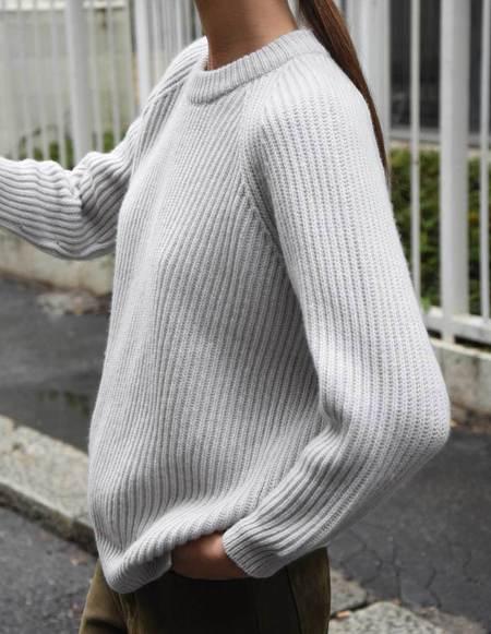 Asciari Milano Gelsomino 100% Luxury Cashmere Sweater - Ivory