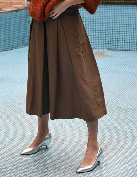 Asciari Milano Skirt - Mud Brown