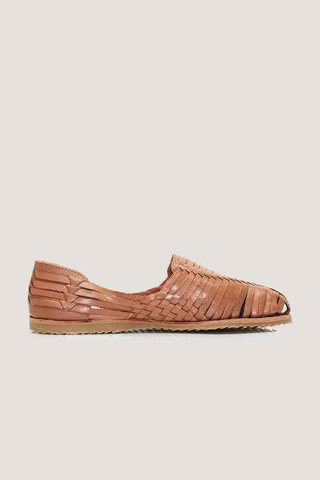 Brother Vellies Whiskey Huaraches sandal - Tan