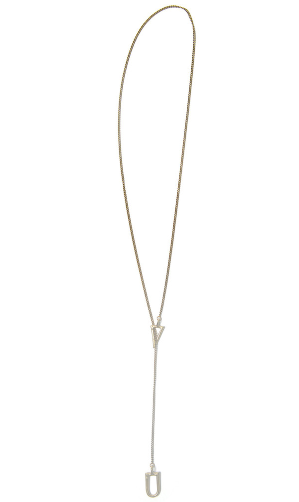 Seaworthy OXALIS LARIAT NECKLACE
