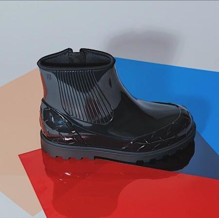 Melissa Fusion Rainboots - black