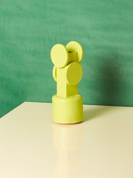 Bzippy & Co. Vase - chartreuse