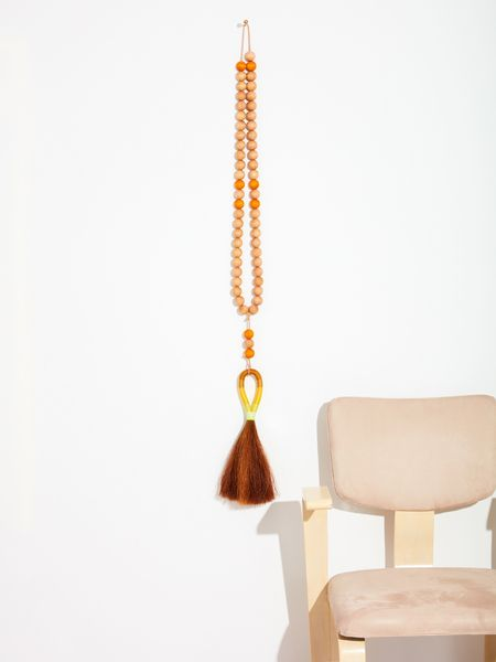 Fredericks & Mae Wooden Beads with Tassel