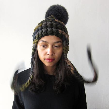 Mischa Lampert Nolita Beanie - Camo/Graphite