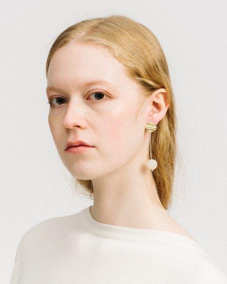 Luiny Madre Perla Drop Earrings