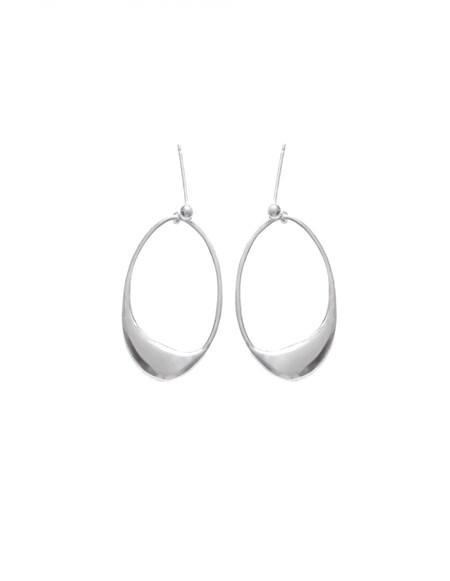 Aere Store Dip Earrings - sterling silver