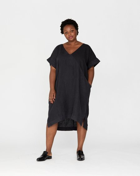 Esby PLUS ALICE TUNIC - MIDNIGHT