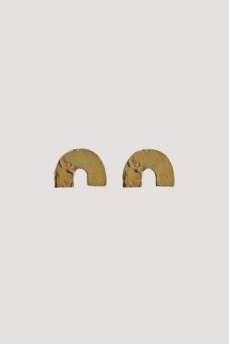 LLY Atelier U Gold Earrings