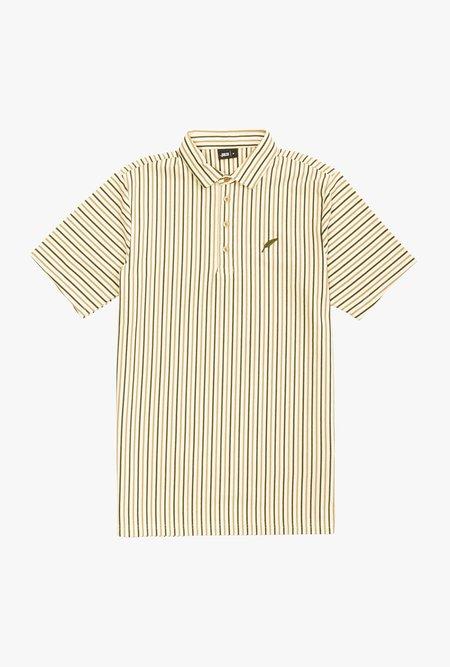 Publish Shin Short sleeve Knit Polo - Tan