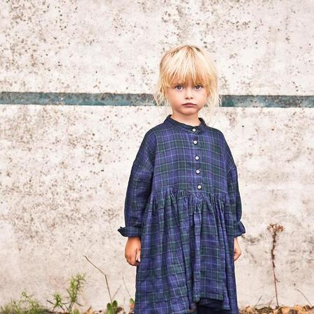 KIDS Morley Child Illy Dress - Yama Blue Plaid