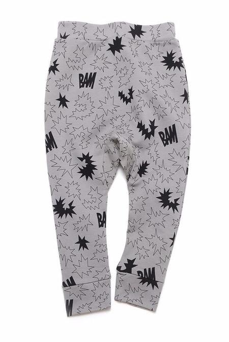 KIDS LITTLE MAN HAPPY Bam Sweatpant - GREY