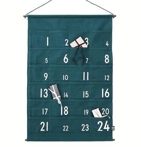 Design Letters Christmas Advent Calendar - GREEN
