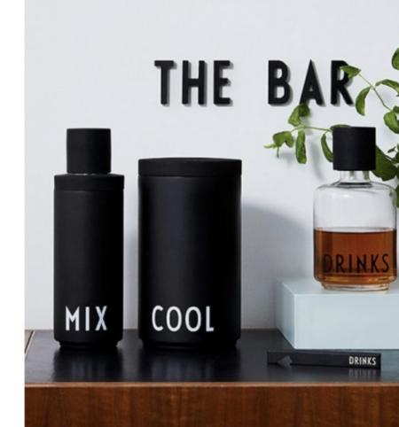 Design Letters Drinks Glass Carafe