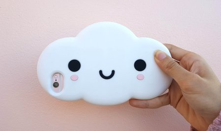 Friends With You Little Cloud iPhone Case