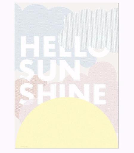 KIDS FRIDAY & TODAY Hello Sunshine Print