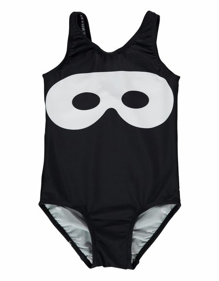 KIDS Beau Loves Hero Mask Swimsuit - BLACK