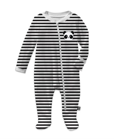 KIDS WHISTLE & FLUTE Kawaii Panda Footed Romper