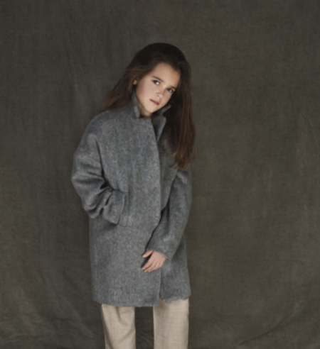 KIDS Unlabel Lea Coat - GREY