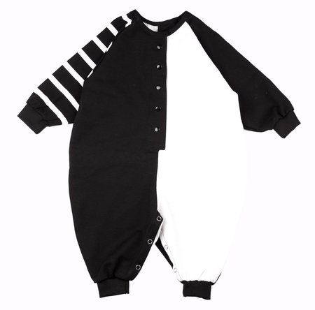 KIDS Meme Multi Signature Onesie - BLACK/WHITE