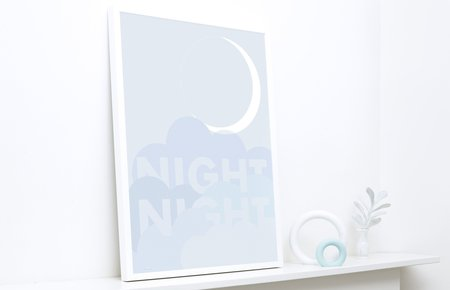 KIDS FRIDAY & TODAY Night Night Print