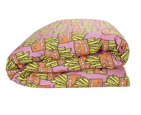 KIP & CO Reversible Fries Duvet Cover