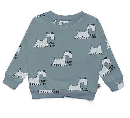 KIDS One Day Parade Scotty Sweater - BLUE