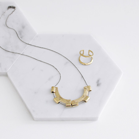 Odette New York Split Meridian Necklace