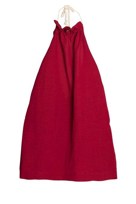 KIDS Little Creative Factory Tuareg Apron Dress - RED