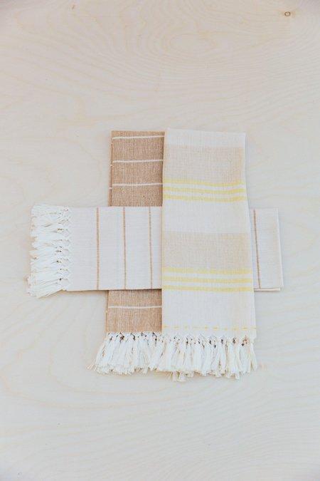 Territory Set of Three Golden Tea Towels