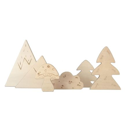 KIDS Loullou Wooden Forest