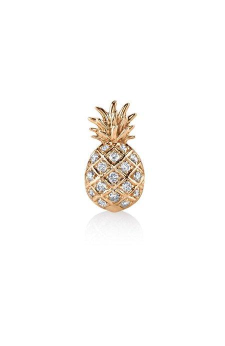 Sydney Evan Pave Pineapple Stud