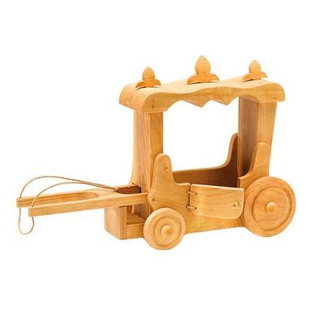 KIDS Ostheimer Wooden Stage Coach - brown