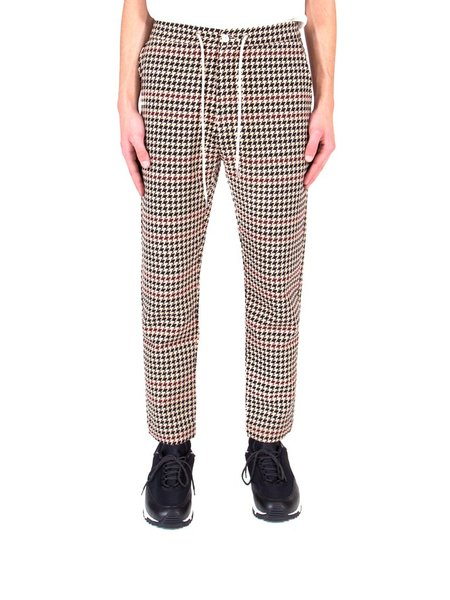 Drôle de Monsieur Tapered Pants - Houndstooth