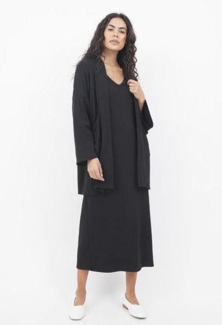 Corinne Collection Kimono Cardigan - Black