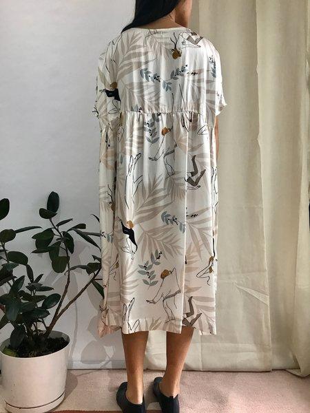 Noémiah CECILIA dress - PRINTED SILK