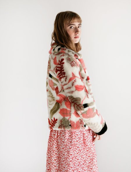 Shrimps Grogan Jacket - Floral Sand