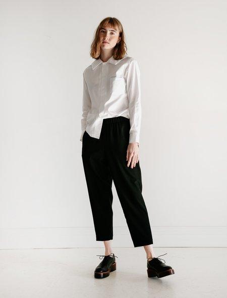 Comme des Garçons Straight Easy Pants - Black
