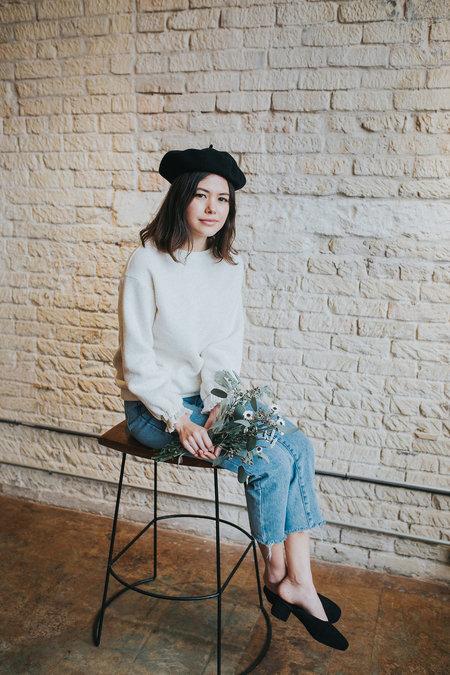 Plante Girly Sweatshirt - Oatmeal