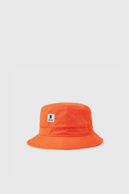Brixton Stowell Bucket Hat - Orange