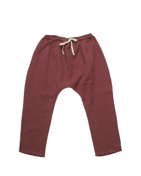 Kids Liilu Baggy Pant - Chestnut