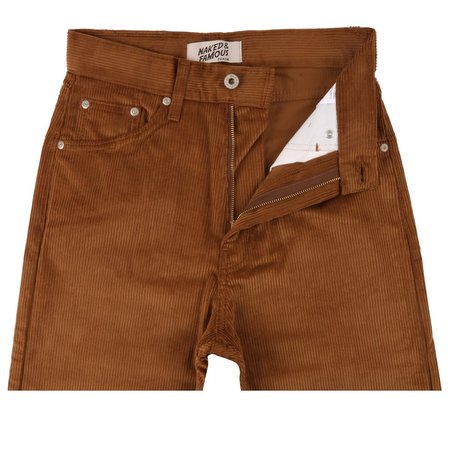 Naked & Famous Classic Corduroy - Camel