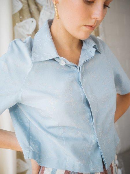 FME Apparel Work Shirt  - Powder Blue