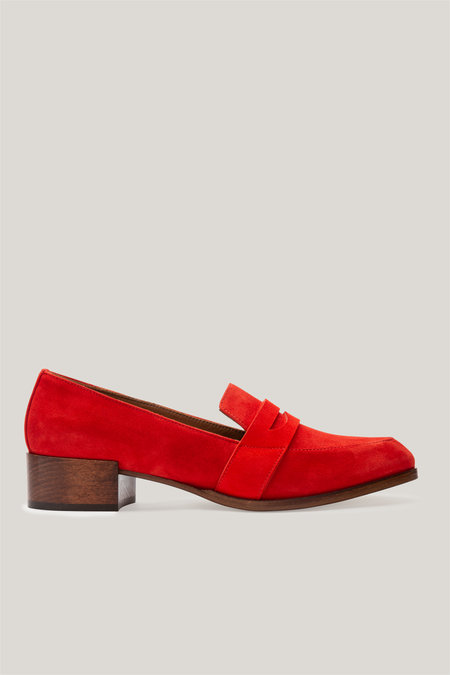 Thelma The Penny Loafer - Flame