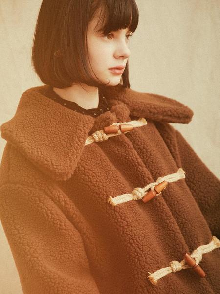 HACKESCH Bambi Cloud Coat - Brown
