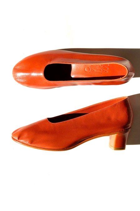 Martiniano High Glove Shoe - Rust