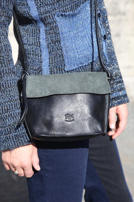 Il Bisonte Crossbody Bag - Black