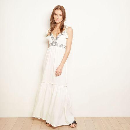 THE ODELLS Marbella Dress - Crema
